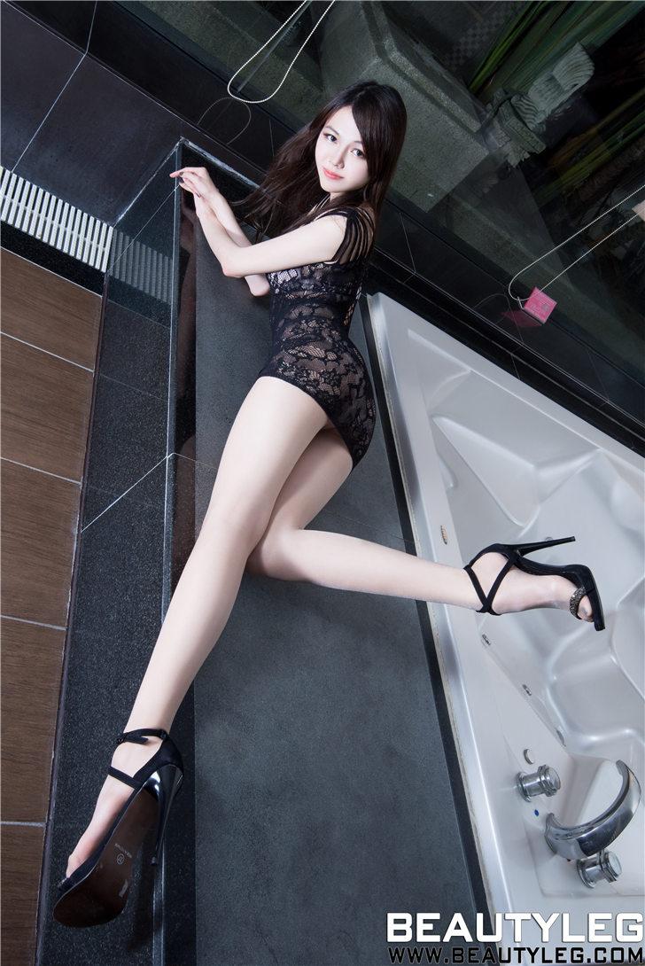 [Beautyleg]台湾丽人Sammi性感网衣美腿丝袜写真-美腿丝袜